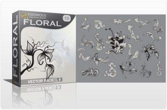 Floral vector pack 13 Floral floral
