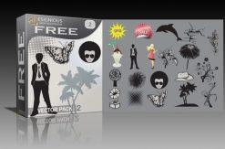 Free vector pack 2 Freebies vector