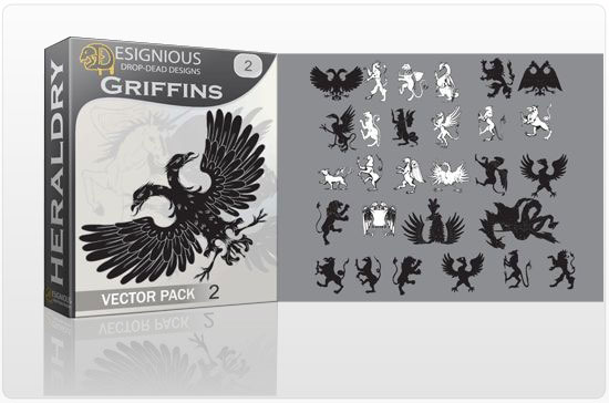 Griffins vector pack 2 products griffin 2