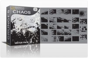 Chaos vector pack 2 Halftones & grunges grunge