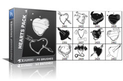 Hearts brushes pack 1 People brushes [tag]