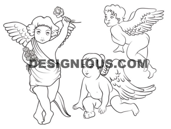 Angels brushes pack 1 Religion brushes [tag]