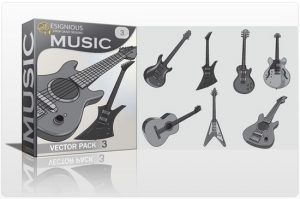 Music vector pack 3 Music music
