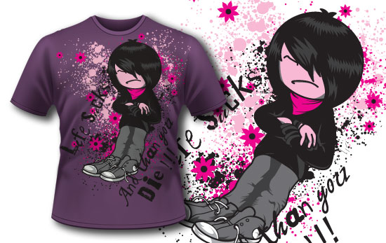 T-shirt design 84 5
