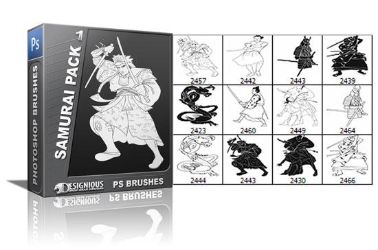 Samurai brushes pack 1 products samurai brush 1