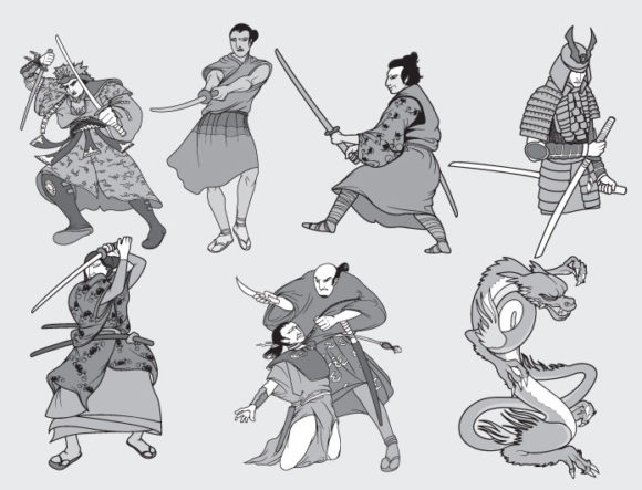 Samurai vector pack 1 4