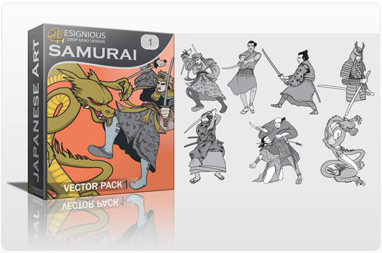 Samurai vector pack 1 3