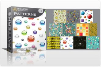 Seamless patterns vector pack 18 Vector Patterns pattern