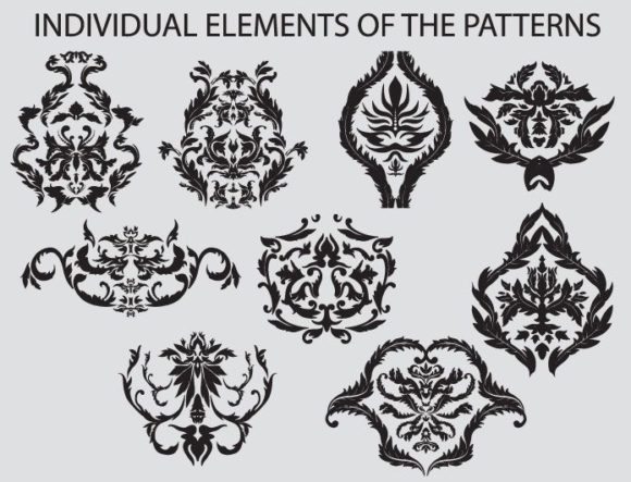 Seamless Patterns vector pack 3 products seamless3 prewiev