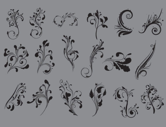 Floral vector pack 31 6