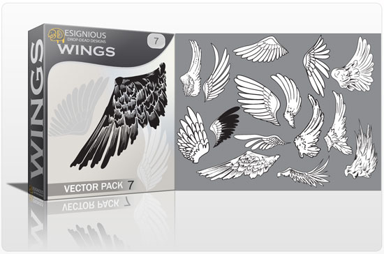 Wings vector pack 7 5