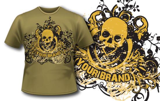T-shirt design 4 T-shirt designs and templates Havoc Hill