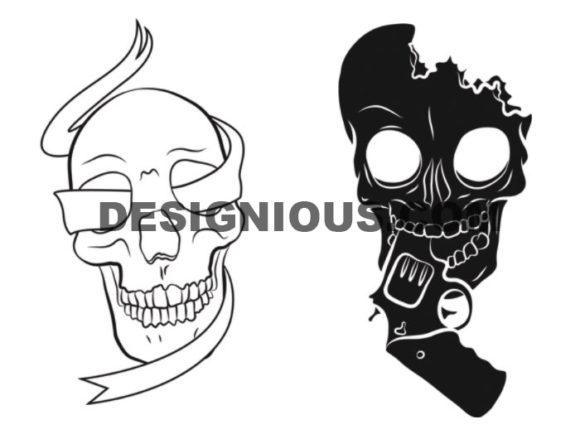 Skulls brushes pack 2 6