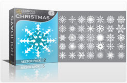 Christmas vector pack 2 Holidays symbol