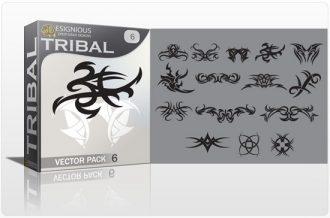 Tribal vector pack 6 Tribal vector
