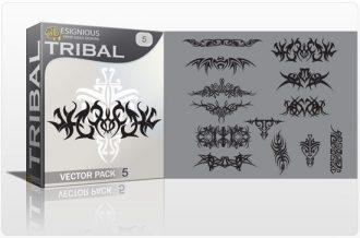 Tribal vector pack 5 Tribal vector