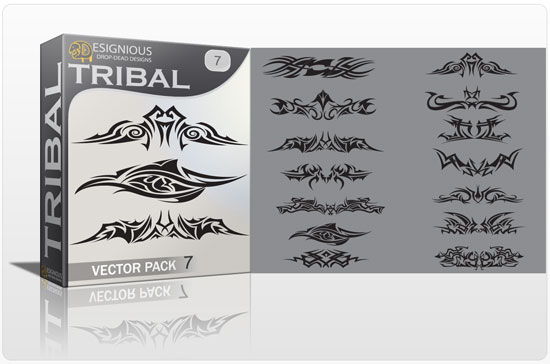 Tribal vector pack 7 1