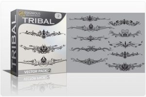 Tribal vector pack 2 Tribal vector