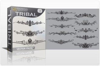 Tribal vector pack 2 Tribal vector