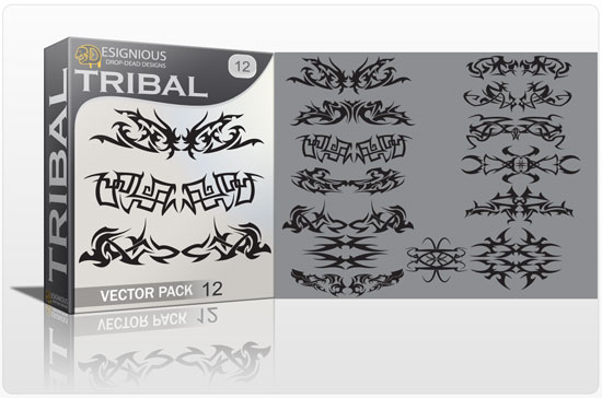 Tribal vector pack 12 3