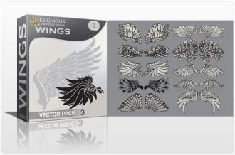 Wings vector pack 3 Wings vector