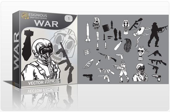 War vector pack 1 War military