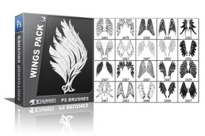 Wings brushes pack 3 Wings brushes [tag]