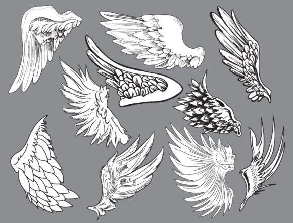 Wings vector pack 5 6