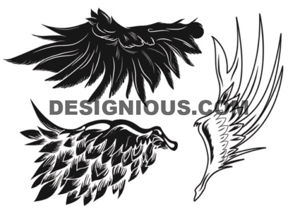 Wings brushes pack 6 6