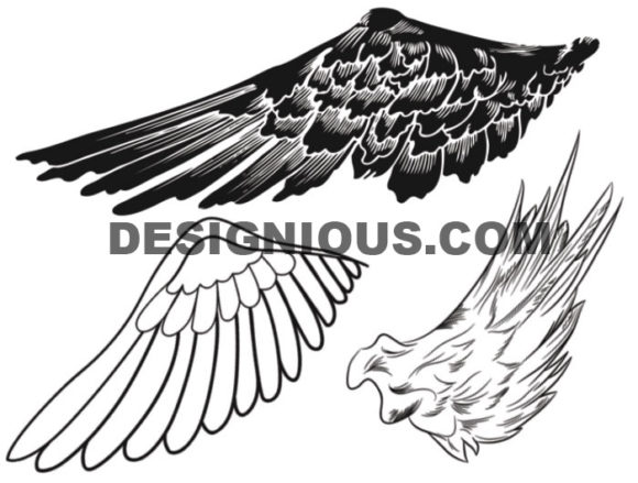 Wings brushes pack 8 6