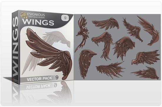 Wings vector pack 9 5