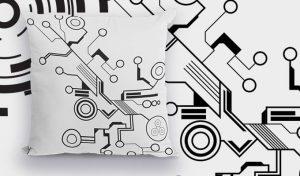 Tech shapes sample Freebies vector