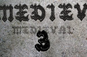 Medieval 3 font Fonts [tag]