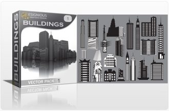 Buildings vector pack Buildings building