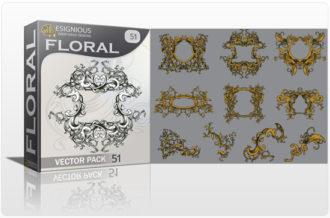 Floral vector pack 51 Floral floral