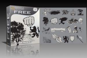 Free vector pack 1 Freebies [tag]