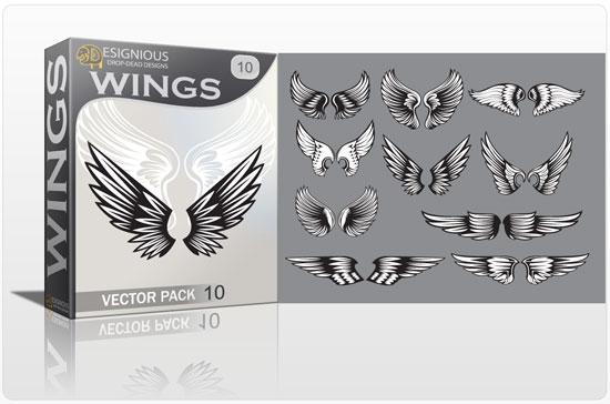 Wings vector pack 10 5