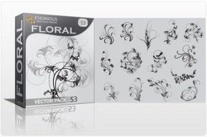 Floral vector pack 53 Floral floral