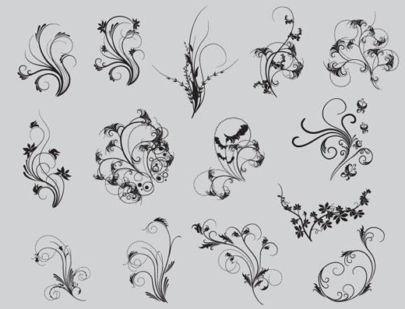 Floral vector pack 53 2