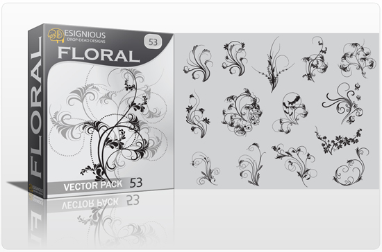 Floral vector pack 53 1
