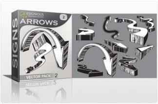 Arrows vector pack 2 Signs symbol