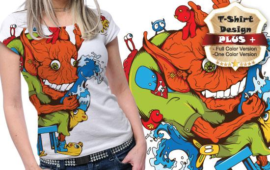 T-shirt design plus 16 products tshirt design plus16