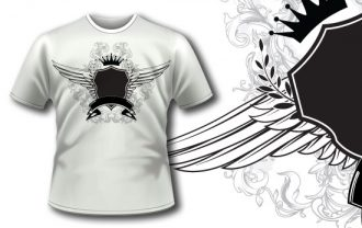 T-shirt design 195 T-shirt Designs and Templates heraldry
