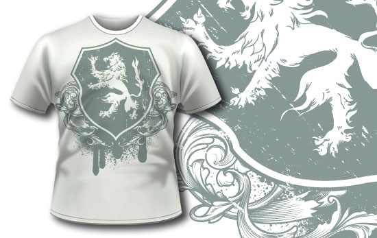 T-shirt design 196 T-shirt Designs and Templates heraldry