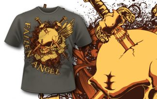T-shirt design 203 T-shirt designs and templates [tag]