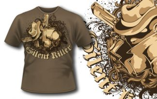 T-shirt design 208 T-shirt designs and templates [tag]