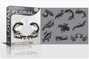 Floral vector pack 55 Floral floral