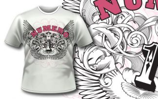 T-shirt design 215 T-shirt designs and templates [tag]