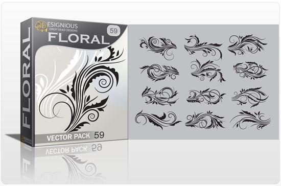 Floral vector pack 59 Floral floral