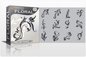 Floral vector pack 61 Floral floral